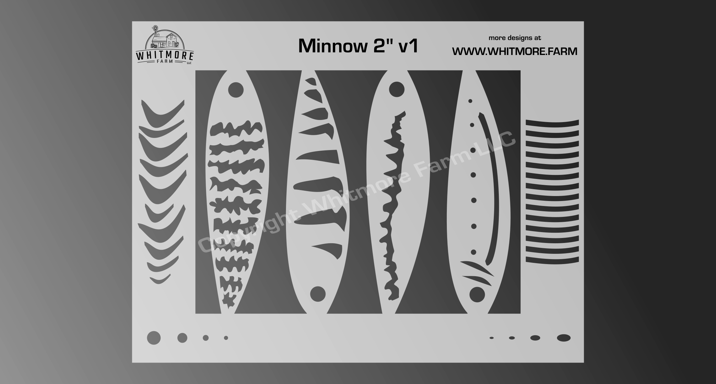 2 inch minnow
