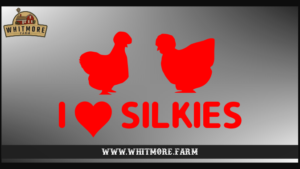 I Love Silkies Red