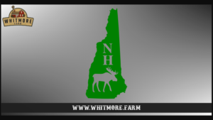 NH Moose State Green