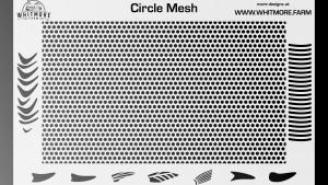 Full Circle Mesh Stencil