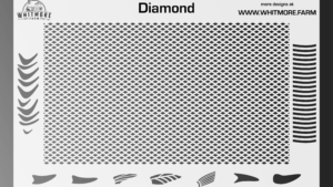 Full DiamondMesh Stencil