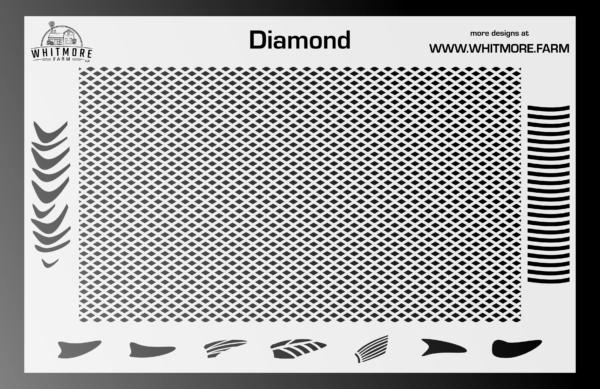 Full DiamondMesh Stencil