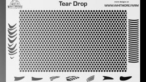 Full Teardrop Mesh Stencil