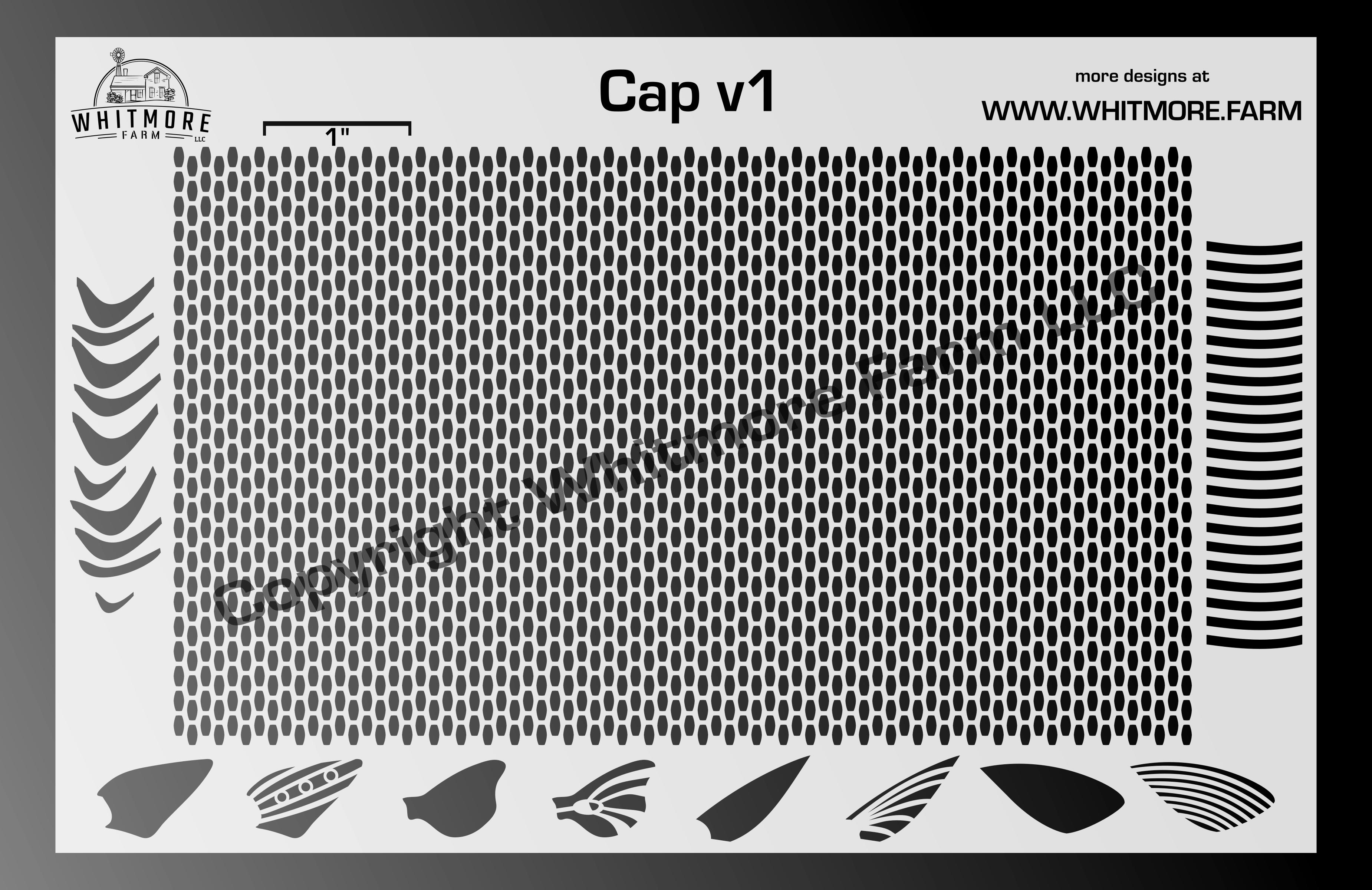 Capsule v1 Mesh Stencil