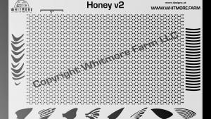 Full Honeycomb Mesh Stencil v2