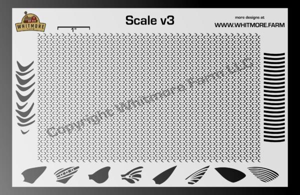 Scale v3 Mesh Stencil
