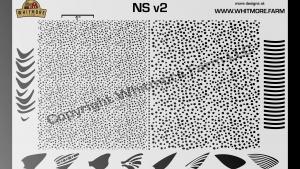 NS v2 Mesh Stencil