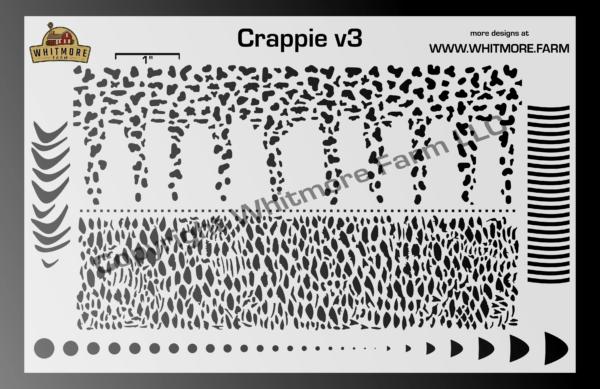 Crappie v3 Mesh Stencil
