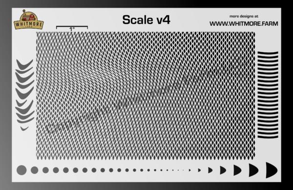 Scale v4 Mesh Stencil