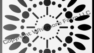 aa1 Circular Wall and Tile Stencil