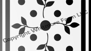 ca1 Circular Wall and Tile Stencil
