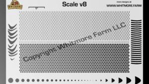 Scale v8 Mesh Stencil